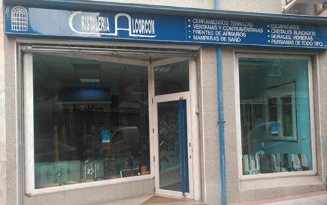 Cristalería en Alcorcón